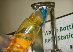 water bottle refill