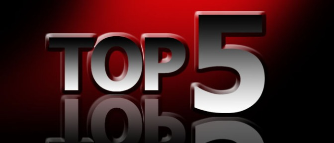 My top 5 runs across the country……