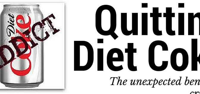 So you think you can't quit Diet Coke?  So did I.
