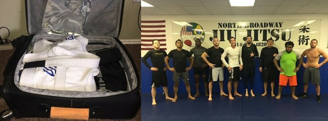Have Gi – Will Travel : North Broadway JiuJitsu, Bryan Guidry Fitness Training
