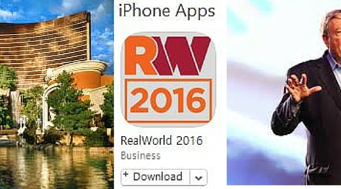 Get the most out of your RealWorld Experience!!